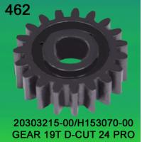 Quality 20303215-00 / H153070-00 GEAR TEETH-19 D-CUT FOR Noritsu LPS 24PRO minilab for sale