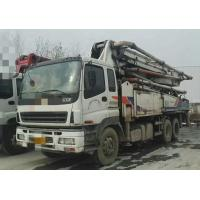 Quality 2010 Year Used Concrete Pump Truck ISUZU-ZOOMLION Brand With 43m Pump for sale