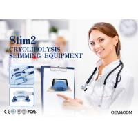 Quality Cryolipolysis Vacuum Slimming Machine For Body Sculpture With 2 Handpieces for sale