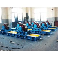 Quality Bolt Adjustment Conventional Tank Turning Rolls with Double Motor ,  60 Ton Tank Turning Rolls for sale