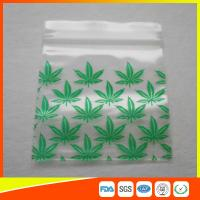 Quality Reclosable Custom Printed Ziplock Bags / Plastic Packing Bag With Zipper for sale