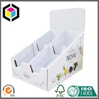 Quality Strong Cardboard Display Box; High Quality Corrugated Display Box with Dividers for sale