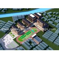 China Long Span Pre Engineered Metal Buildings , Commercial Steel Buildings ISO Approved on sale