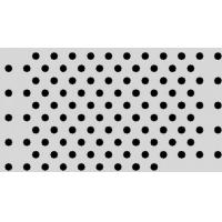 Quality Perforated Lowes Sheet Metal High Strength Multicolors Decorative Plate for sale