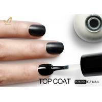 Buy No Yellowish UV LED Gel Nail Polish Wipe Top Coat Long Lasting Smooth Surface at wholesale prices