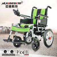 Quality Double Motors Portable Motorized Wheelchair Battery Powered Long Service Life for sale