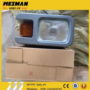 China SDLG orginal left front head lamp,  4130000542 , SDLG spare parts  for SDLG wheel loader LG956L on sale
