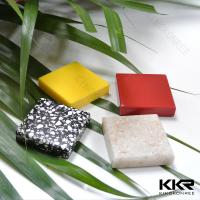 Quality Anti-yellowing White Artificial stone solid surface sheets for sale