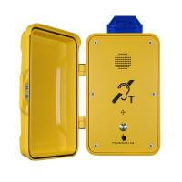 Quality Emergency Industrial Weatherproof Telephone Anti Corrosion With Warning Lamp for sale