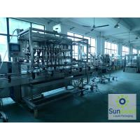 Quality High Speed Automated Piston Filling Machine Rotary Monoblock For Bottling Edible Oil for sale