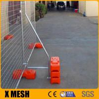 New Zealand Standard Temp Fence hot dipped galvanized temp fencing for sale