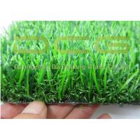 Quality Synthetic Artificial Grass Landscaping / Natural Fake Turf Carpet For Back And Front Yards for sale