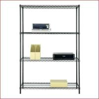 """Quality Multipurpose Home Organized Display Rack 4 Tier Wire Shelving 14""""D X 36""""W for sale"""