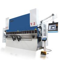 Quality 8+1 axis CNC Hydraulic Press Brake 110T/3200 with Delem DA66T system for sale