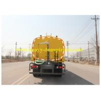 China Yellow Water sprayer Tank Truck 6x4 25tons with powerful engine 380hp LHD RHD on sale