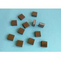 Tips Square PCD Cutting Tool Blanks Diamond And Tungsten Carbide Brazed for sale