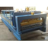 Buy Steel Roofing Sheet Roll Forming Machine With Cnc Hydraulic Press , Roofing Roll at wholesale prices