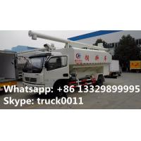 Buy Euro 4 120hp CLW5110ZSLD4 animal bulk feed delivery truck for sale, feed pellet truck at wholesale prices