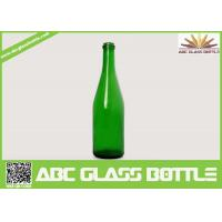 Quality New design bottle of red wine green glass wine bottle 750ml with high quality for sale