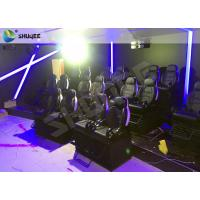 Quality Wonderful 12 Special Effects Mobile 7D Cinema Theater / 7D Interactive Motion Theater for sale