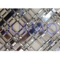 China Silver Wire Mesh Grille Inserts For Cabinets ,Luxury Yachts Decorative Metal Mesh on sale