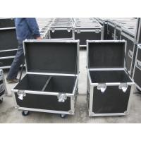 Quality Plywoods / Aluminum Rack Flight Case Black Color With Stackable Ball Corners for sale