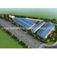 A36 A572 Metal Steel Structure Warehouse Energy Saving For Food Factory for sale