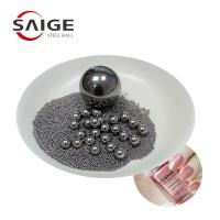 Quality AISI316 5.953mm 6mm Steel Ball , Stainless Steel Mixing Balls For Nail Polish for sale