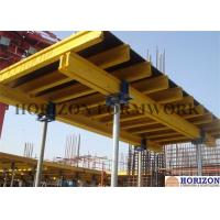 Flexible Slab Decking System 4.5m Height Timber Beam H20 Movable By Trolley