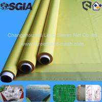 Buy cheap 43T 54T 77T Polyester T - Shirt Screen Printing Frabic , White / Yellow / Black from wholesalers