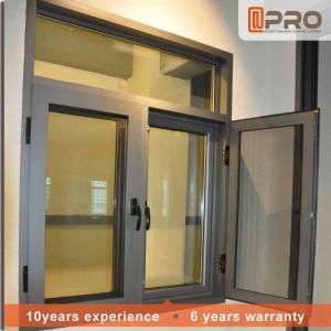 Quality Rainproof Aluminum Casement Windows Thermal Break Aluminium System Design for sale