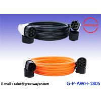 China Electric Vehicle Charging Cable part 32A IEC 62196-2 Male Plug / Charging Station / End on sale