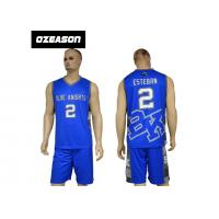 Quality wholesale blank sublimated team sports custom basketball jerseys for sale