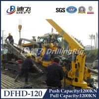 Quality 120T DFHD-120 underground pipeline laying rig HDD machine with 1200KN Pulling Force for sale