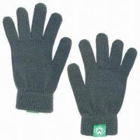 Quality 100% Acrylic Knitted Gloves for sale