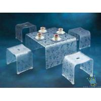 Quality FU (7) clear acrylic lit furniture for sale
