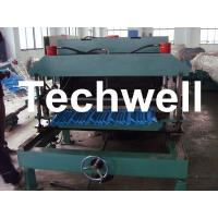 Buy Steel Metal Roof Tile Cold Roll Forming Machine For Roof Cladding, Wall Cladding at wholesale prices