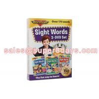 Quality Sight Words 3 DVD Set Early Education Baby Learning Language Software Educational DVD for sale