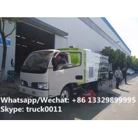 CLW 2019 best offer price of street road sweeper truck mounted with sweeping deputy engine, road sweeping vehicle for sale