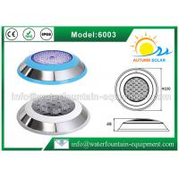 Quality Stainless Steel 304 Underwater Pool Lights RGB 18W Energy Saving Color Changing for sale