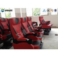 Buy Exciting 4D Cinema Equipment Seats Can Movement From Front To Back 50 - 200 Seats at wholesale prices