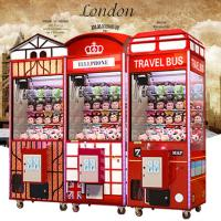 China 1 Player Coin Operated Crane Game Machine / Gift Vending Toy Claw Machine on sale