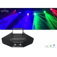 Quality 90w Sound Activated 6 In 1 Laser Disco Laser Lights For Home / Party / Night Club for sale