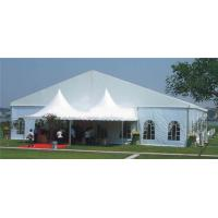 Heavy Duty Outdoor CanopyParty Tent Aluminum Alloy Material With Lighting for sale