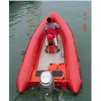 China Hypalon/PVC Rigid Hull Inflatable Boat (RIB) on sale