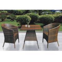 Quality China outdoor wicker table chair set for sale