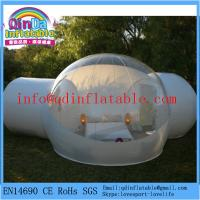 Quality QinDa Inflatable outdoor camping bubble tent for sales transparent tent for sale