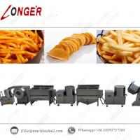 Quality Commercial French Fries Production Line|Industrial French Fries Processing Line|Automatic French Fries Making Line for sale