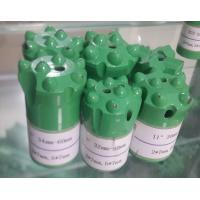 Quality 7 Buttons 34mm 36mm 38mm 40mm Quarry drilling Tapered Button Bit for sale