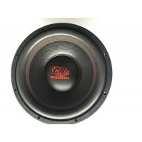 Paper Cone Loudest Competition 10 Inch Subwoofers Car Audio with 1PC Spider for sale
